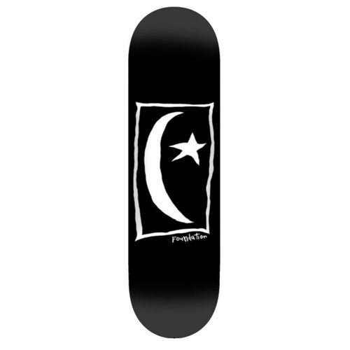 Foundation Star & Moon Square Skateboard Deck - 8.25