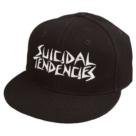 Suicidal Tendencies OG Embroidered Snapback Cap - Black