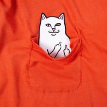 Rip N Dip Lord Nermal Long Sleeve - Texas Orange