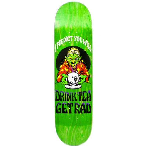 Lovenskate Drink Tea, Get Rad Skateboard Deck - 8.00