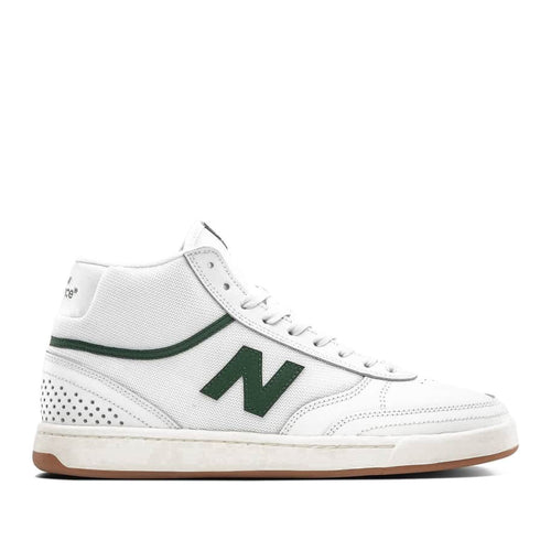 New Balance Numeric NM440 High Skateboard Shoes - White/Green