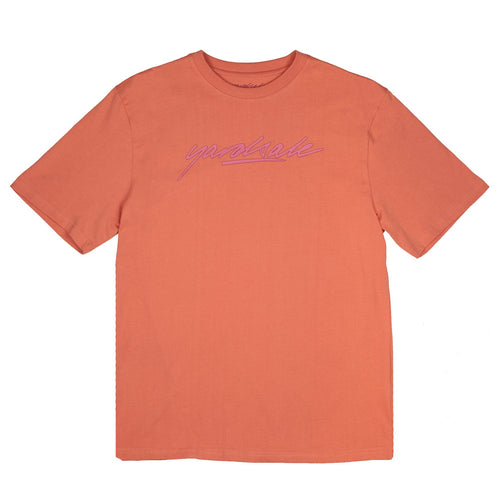 Yardsale Script T-Shirt - Peach