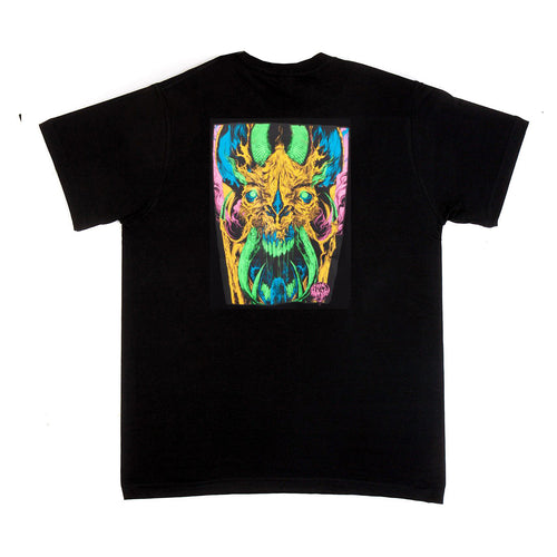 Santa Cruz Winkowski Primeval T-Shirt Blacklight Black