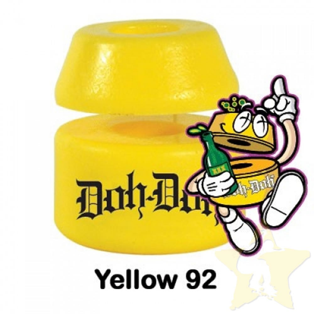 Shortys Doh Doh 92A Yellow Bushings
