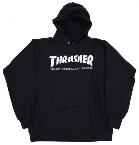 Thrasher Magazine Logo Hood - Black