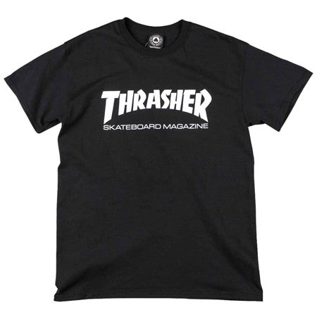 Thrasher Magazine Logo T-shirt - Black