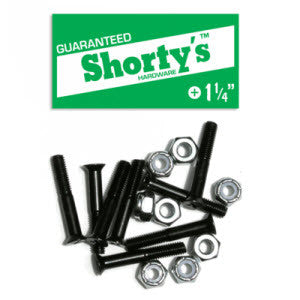 Shortys Long Board Bolts - 1 1/4