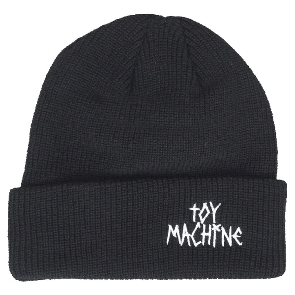 Toy Machine Tape Logo Beanie - Black