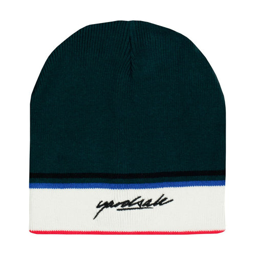 Yardsale Penny Beanie - Forest/Black