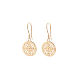 poppy BOHO EARRINGS - plain