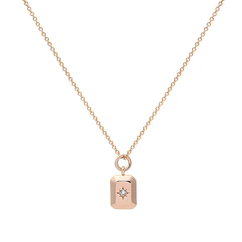 astra Dainty north star NECKLACE - GOLD