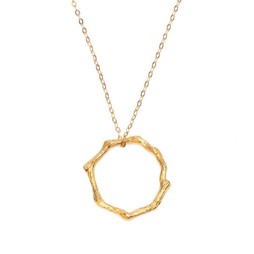 ETERNITY NECKLACE - gold
