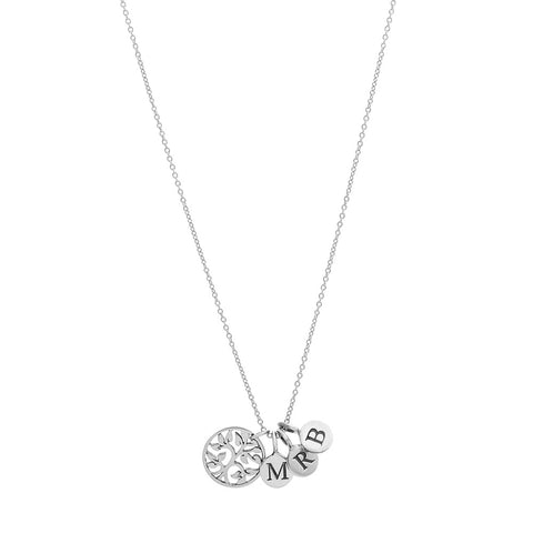 FAMILY TREE NECKLACE - STERLING SILVER