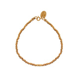 gold FRIENDSHIP BRACELET, CLASP