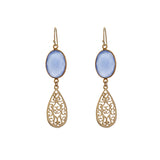 MAHARANI EARRINGS - sky