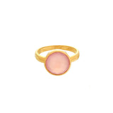 ROUND RING - ROSE - THE SASKIA