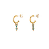 alissa emerald arrow HOOPs