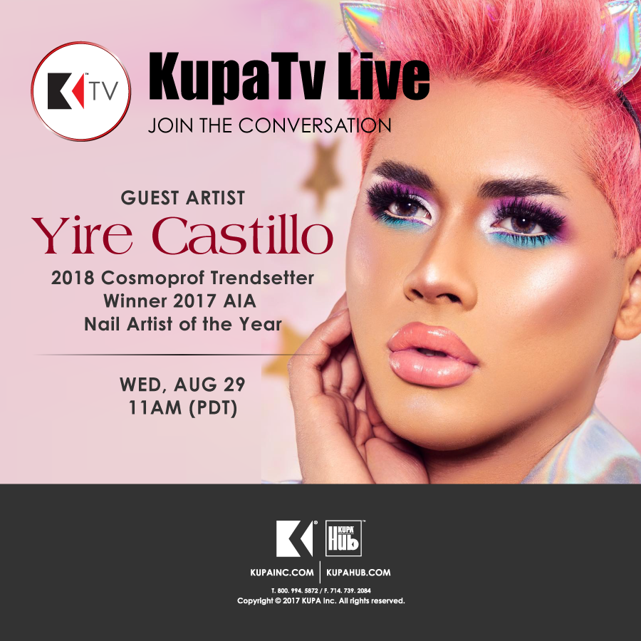 FB Live Special Guest Yire Castillo August 29th, 2018