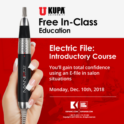 Free* E-file Education at Kupa Training Center December 2018