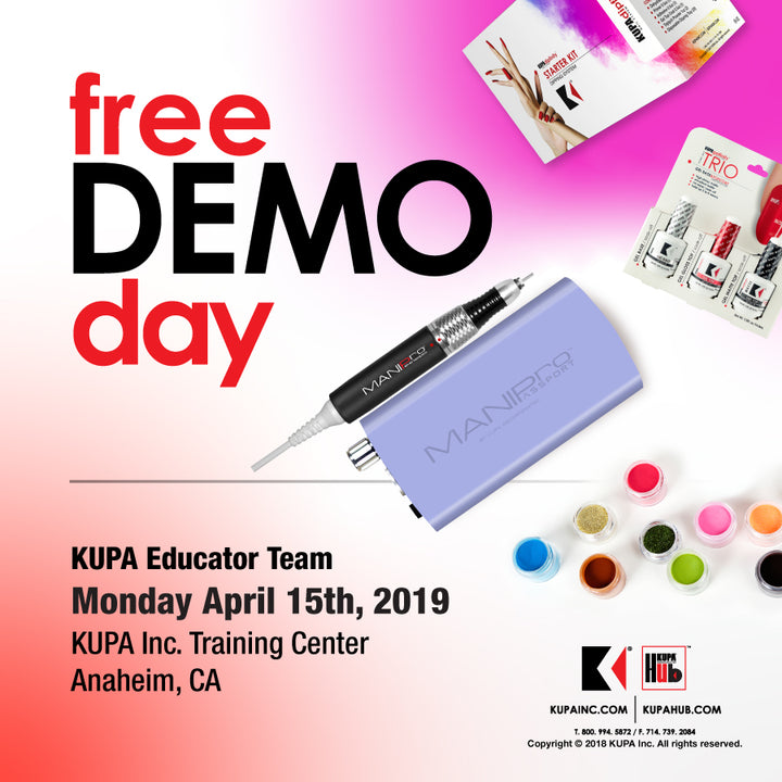 Free Demo Day April 15th, 2019