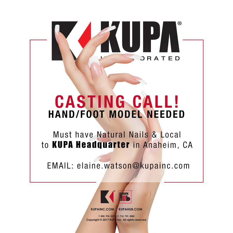 CASTING CALL Hand / Foot Model Wanted at KUPA INC