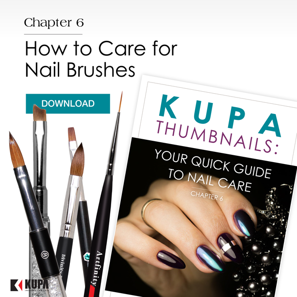 Kupa Thumbnails Chapter 6: How to Care for Nail Brushes