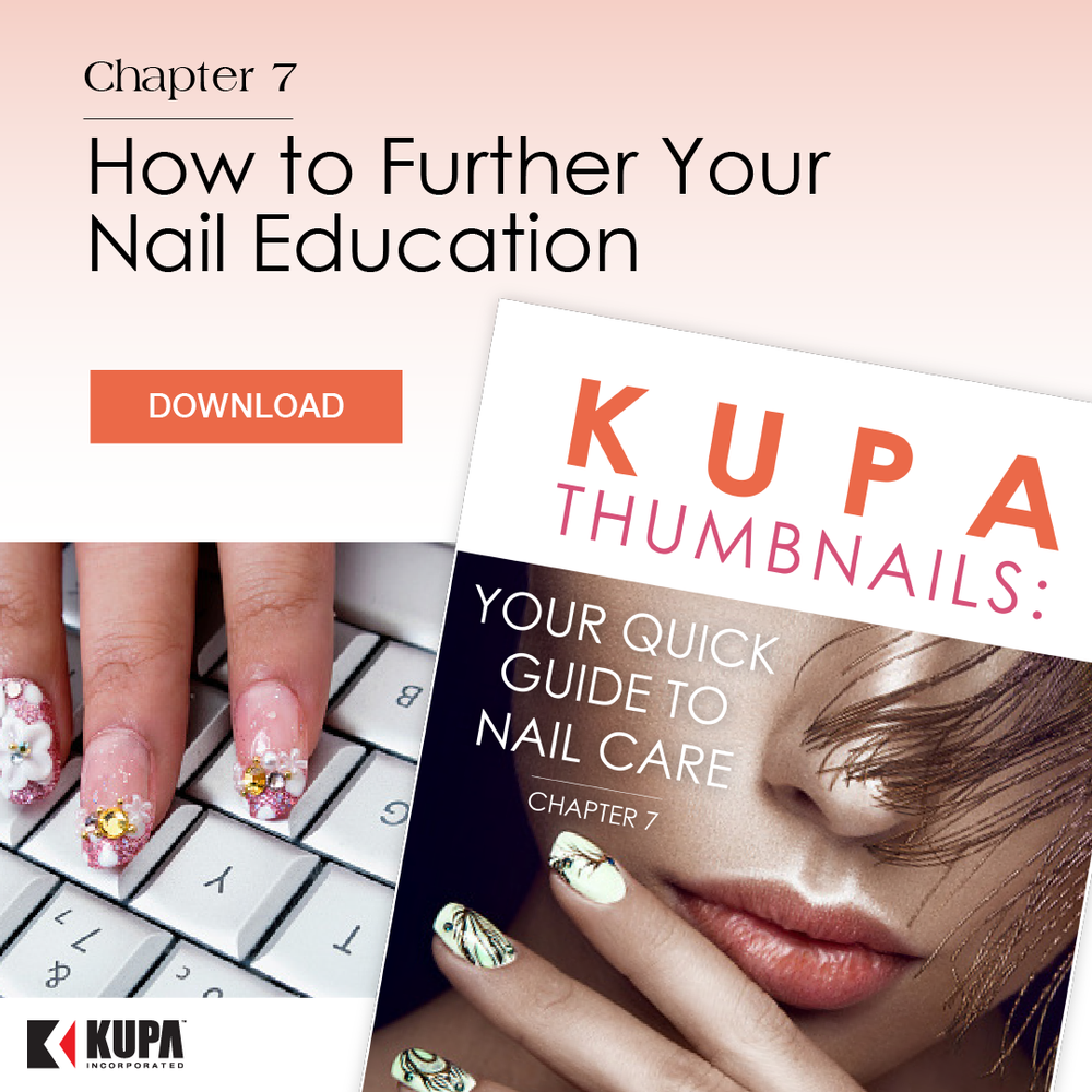 Kupa Thumbnails Chapter 7: How to Further Your Nail Education
