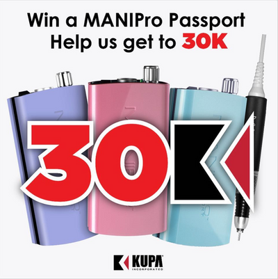 Kupa 30k Giveaway!~Help us get to 30k on Instagram for a chance to win a MANIPro Passport