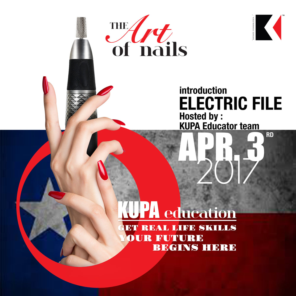 Kupa Efile Certification Class at Best Lil Nail Show Texas April ...