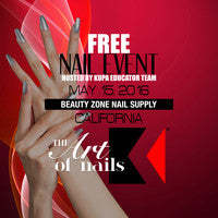 Join #TeamKupa at Beauty Zone Supply SUNDAY MAY 15th, 2016 for the NEXT FREE Kupa Nail Show