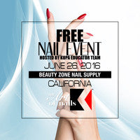 #TheArtofNails #KupaNailShow at Beauty Zone Supply, Sunday June 26th, 2016