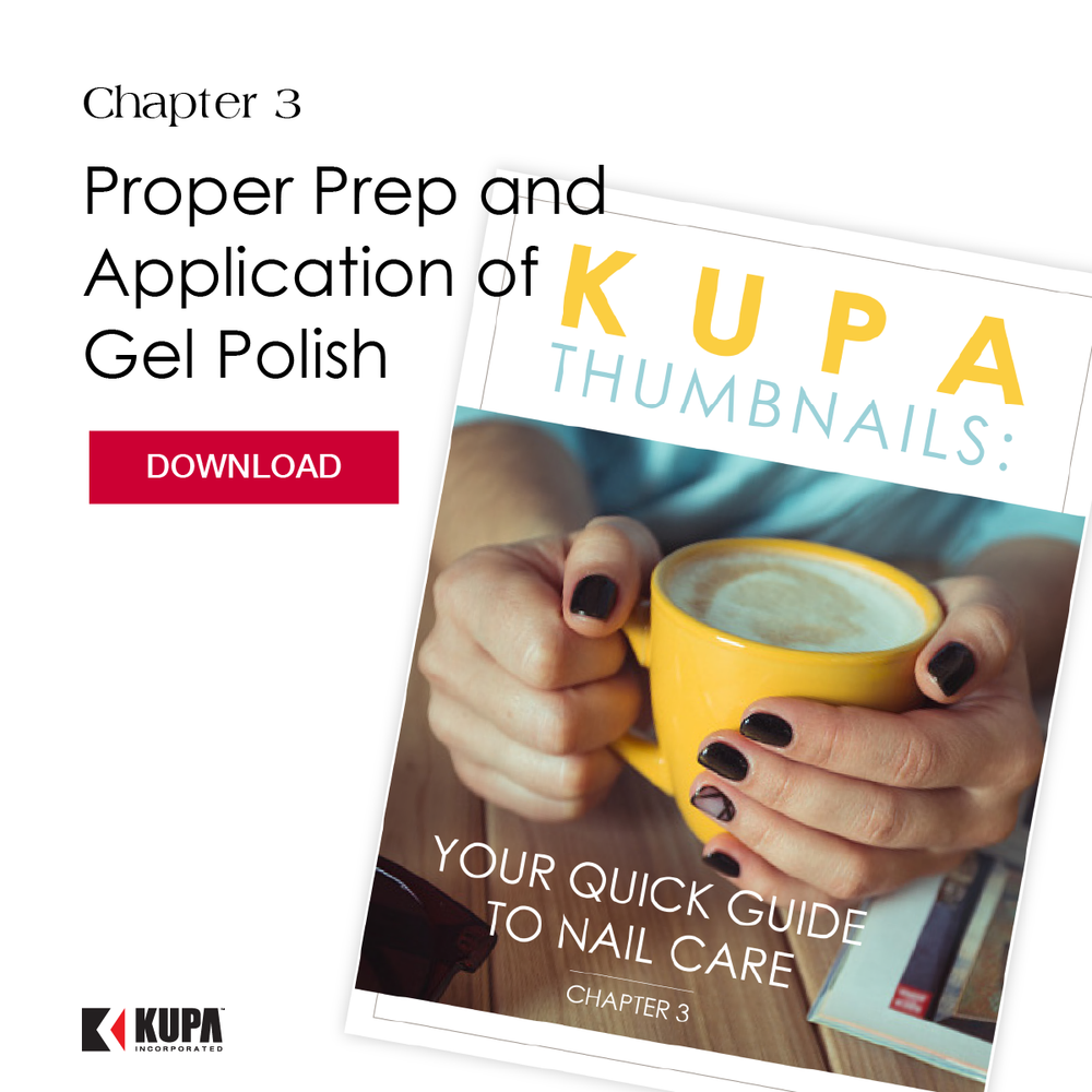 Kupa Thumbnails Chapter 3:  Proper Prep and Application of Gel Polish