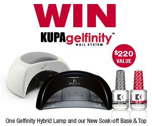 WIN a GelFinity Hybrid UV/LED Lamp & the NEW GelFinity Gel Base & Top Coat!! Enter NOW!