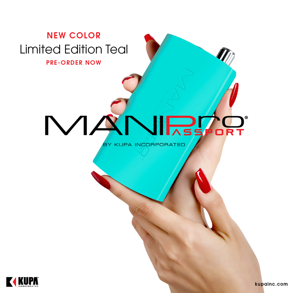 The NEW Limited Edition MANIPro Passport TEAL - Preorder Now!
