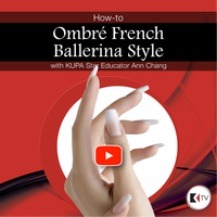 KUPA TV Presents Ombre French Ballerina Style Nails