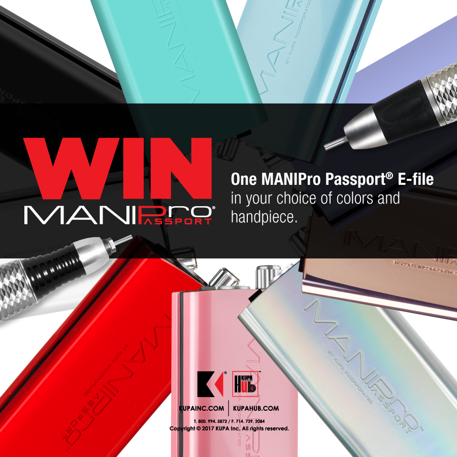 Enter to WIN the all new Colors e-file MANIPro Passport from KUPA November 2018
