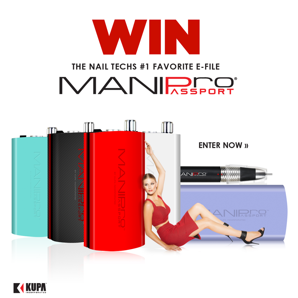 WIN a MANIPro Passport from KUPA Inc.!  Enter to WIN and Regram from Instagram or Facebook