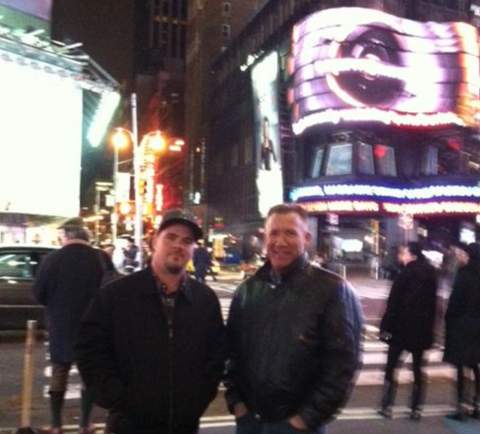 Robert Arthur and Richard Hurter in the Big Apple for IBS 2011.
