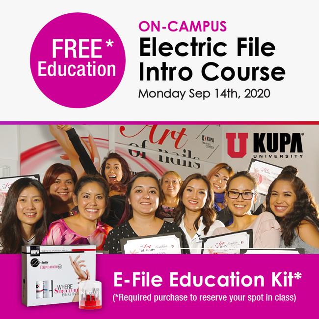 E-File Course On-campus Experience - September 14th, 2020