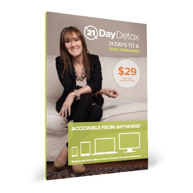 21-Day Brain Detox Online Course Gift Card (w/ Redemption Code)