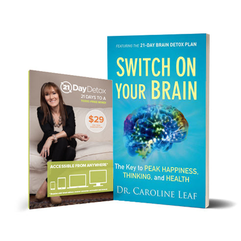 21-Day Brain Detox Package (Book + Online Course w/ Redemption Code)