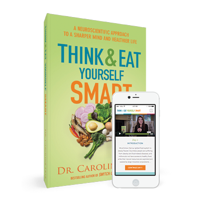 Think & Eat Yourself Smart (Book + Online Course w/ Redemption Code)