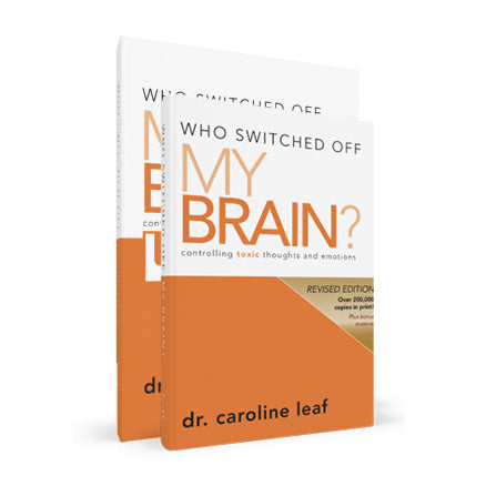 Who Switched Off My Brain? Hardcover Workbook/Journal