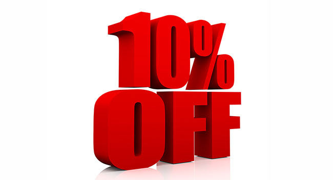 Get 10% OFF When You Shop with us For the First Time