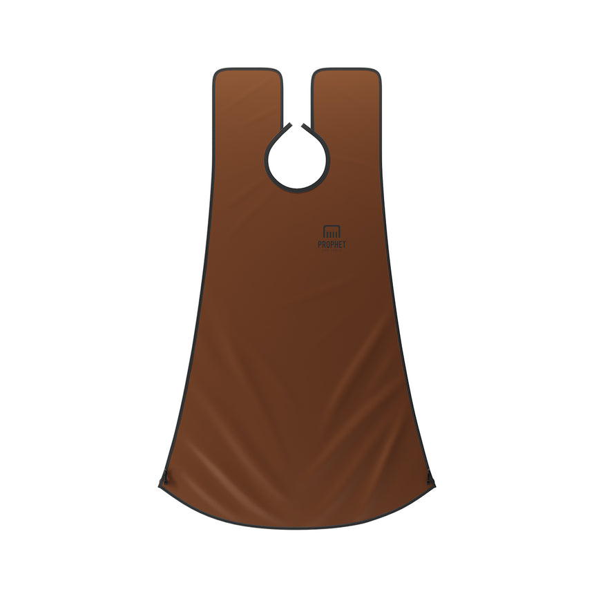 Beard Bib Catcher for Hair Clippings with Pouch