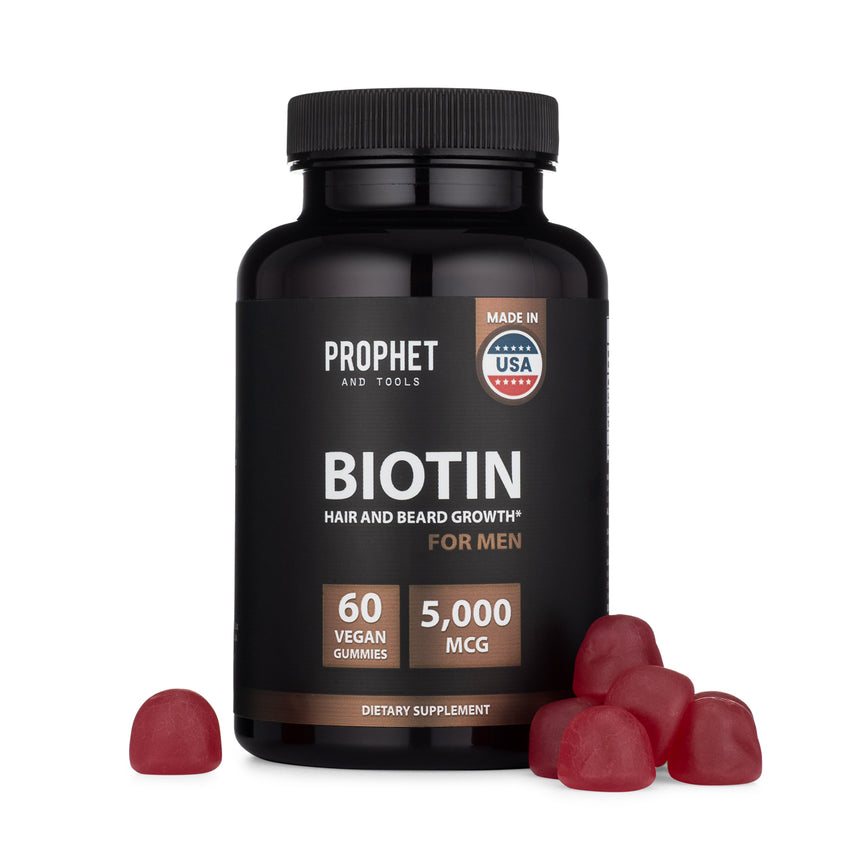 Hair and Beard Growth Biotin Supplement 5000MCG