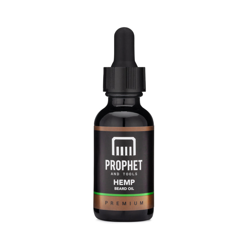 Hemp Beard Oil for Pain and Stress Relief 1oz
