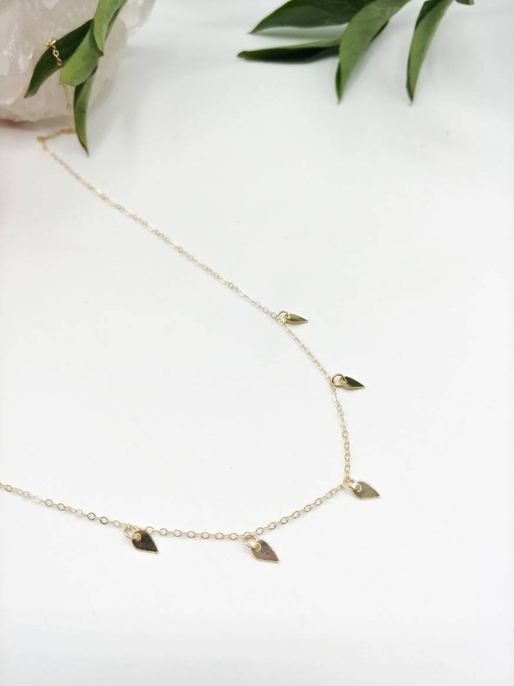 Petal Charm Necklace
