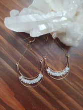 Load image into Gallery viewer, Moonstone Earrings