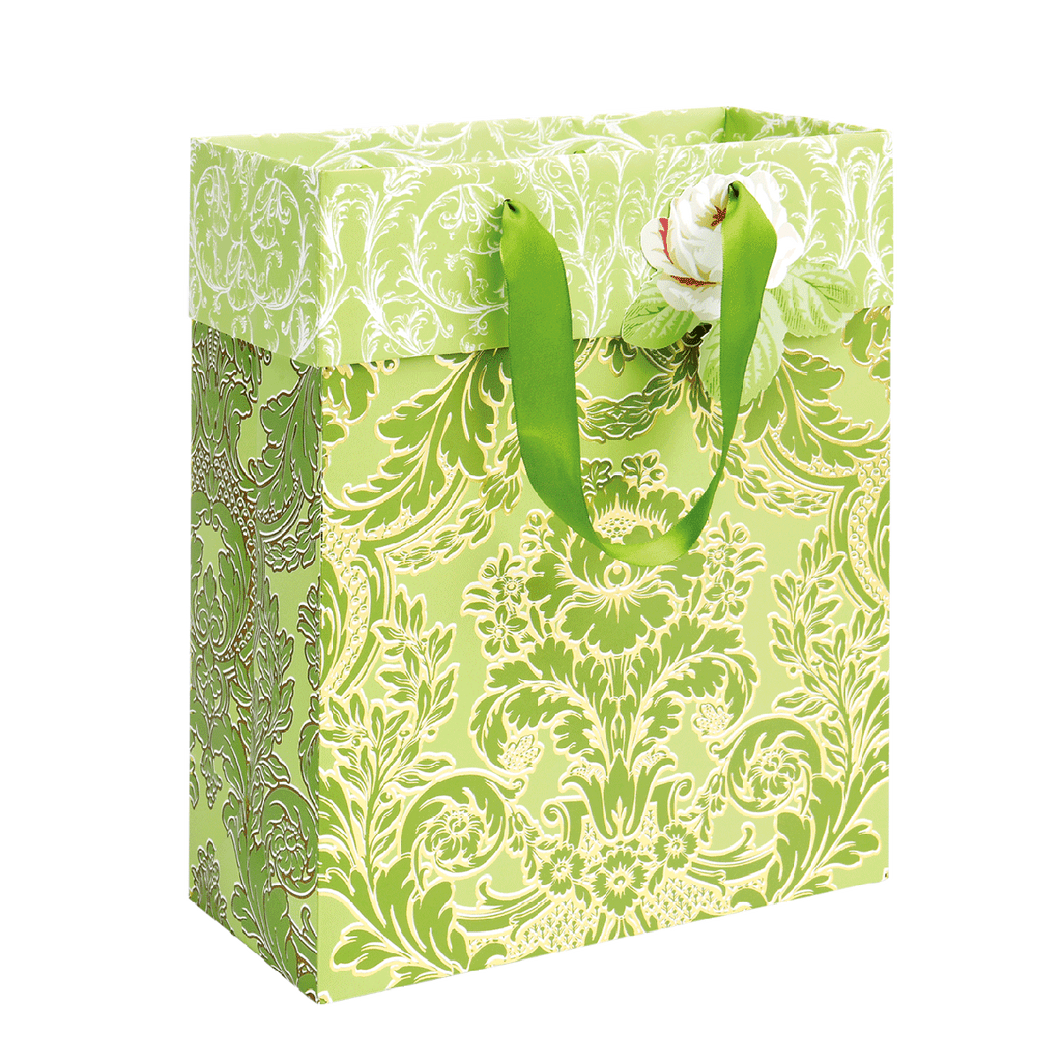 Anna Griffin - Green Damask Cub Bag